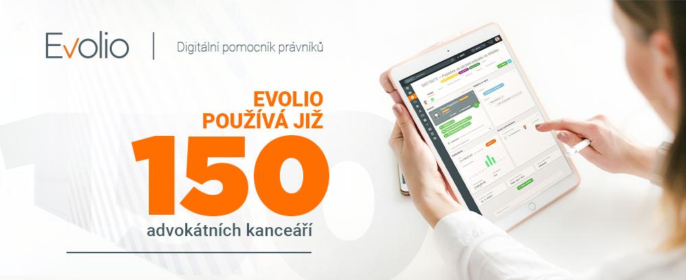 Software pro advokáty Evolio využívá už 150 kanceláří
