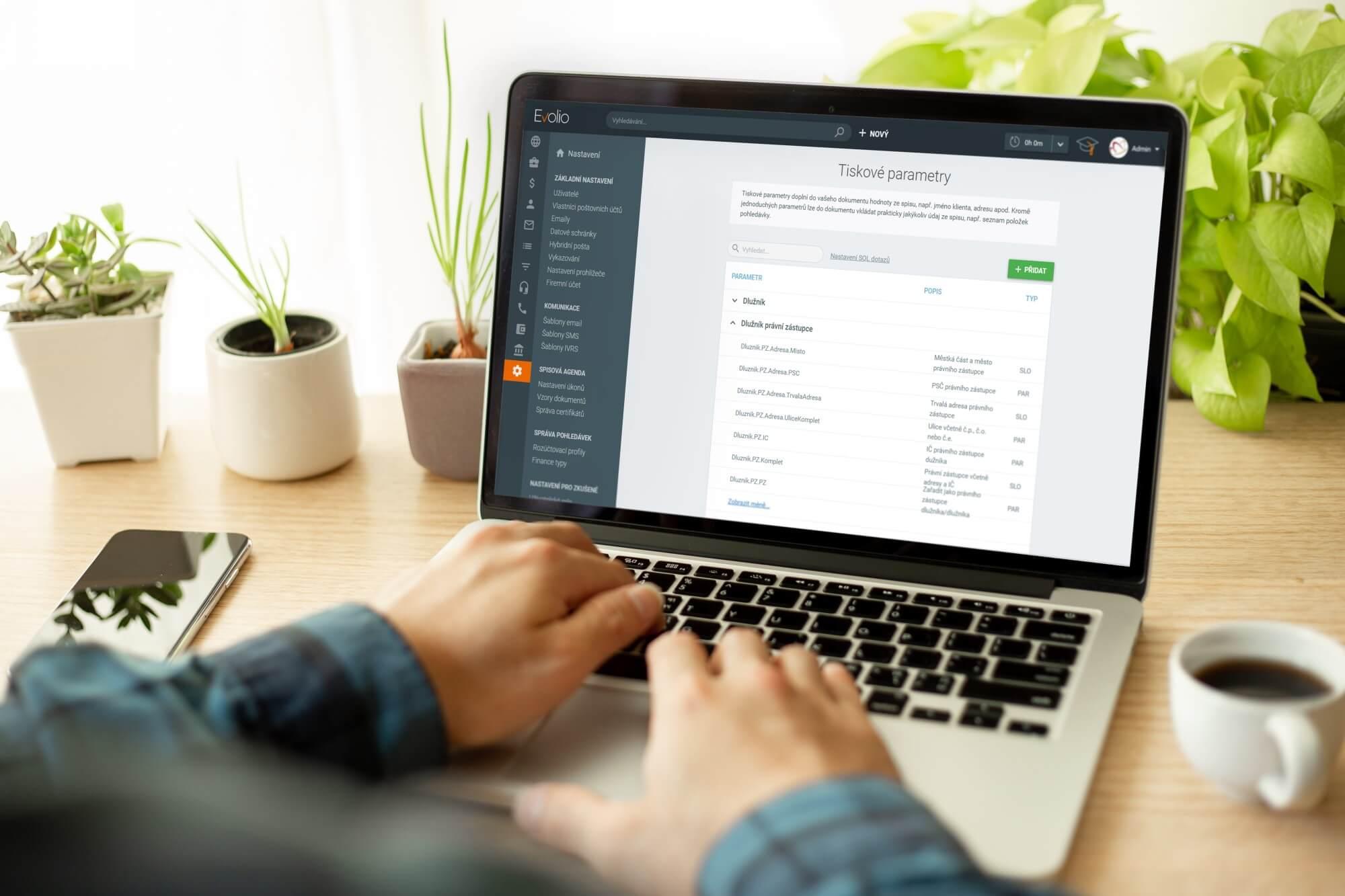 Webinář generování dokumentů - advokátní software