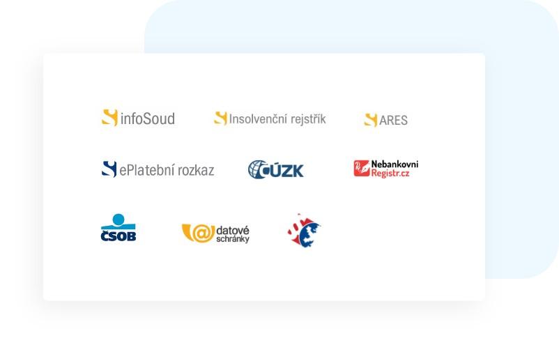 Integrace na infosoud, insolvenční rejstřík v elektronickém spise